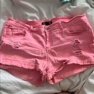 Pants - Hot Pink super soft denim shorts